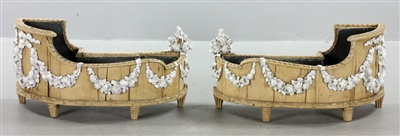 Pr. 19th C. French Chateau Bois Planters
