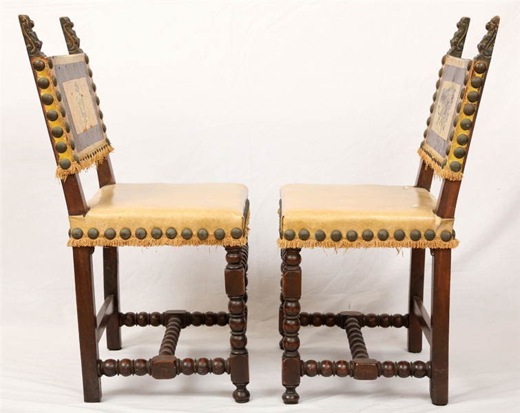 Pr. 19th C. Spanish Chairs