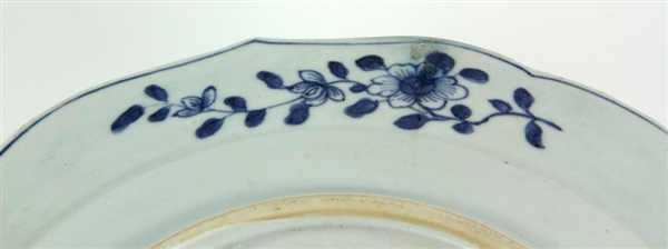 Four Chinese Blue and White Porcelain Items