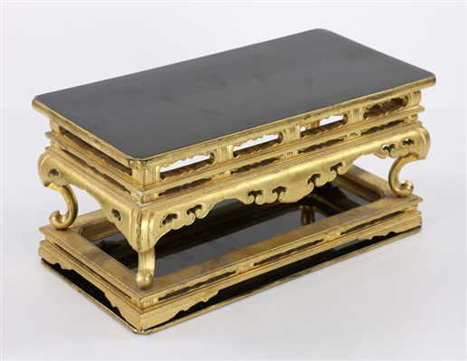 Chinese Lacquered Stand