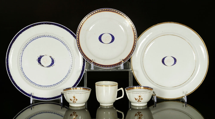 Lot of Chinese Export Porcelain