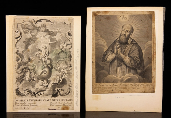 17th and 18th C. Religious Prints