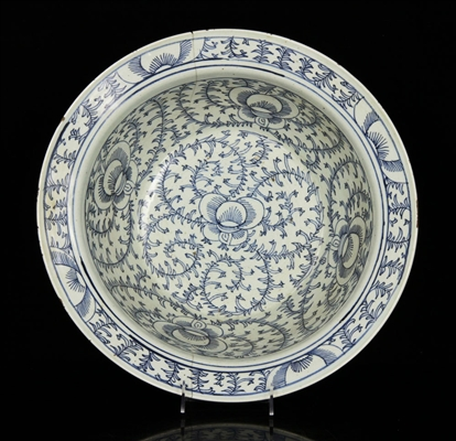 19th C. Chinese Blue and White Bowl