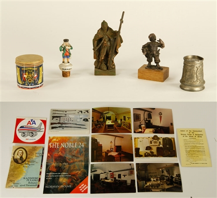 Lot of Assorted Military Collectibles