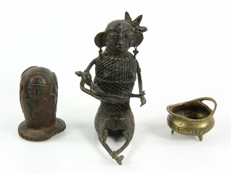 Collection of Asian Bronze Items