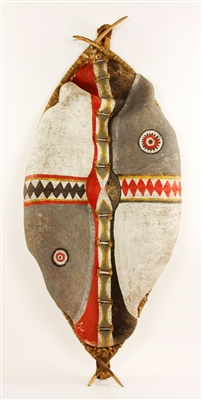 African Painted Shield