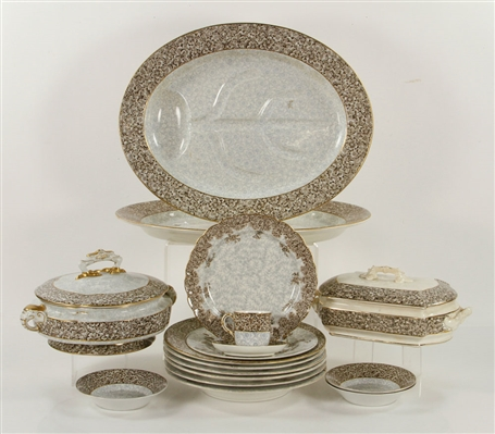Lot of Royal Worcester Transferware