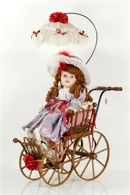 China Doll in Carriage