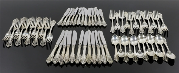 Grand Baroque Sterling Flatware Set