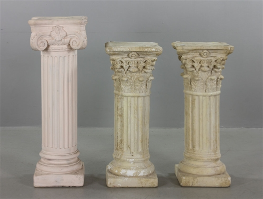Three Decorative Columns