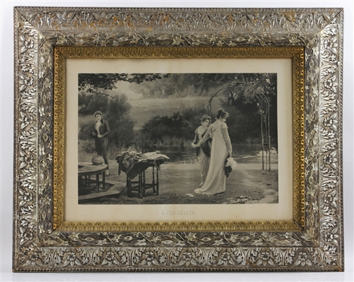 Attr. Stanford White Framed Lithograph