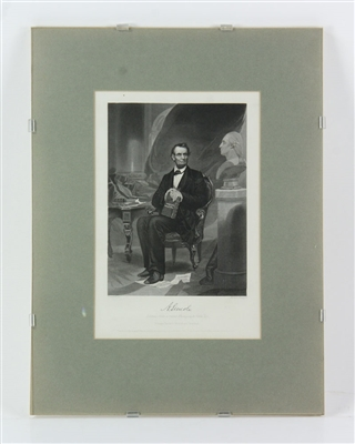 Portrait of Lincoln, Print