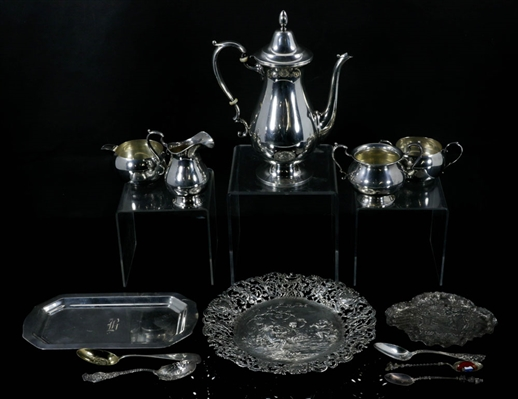 Lot of Dutch Sterling Silver