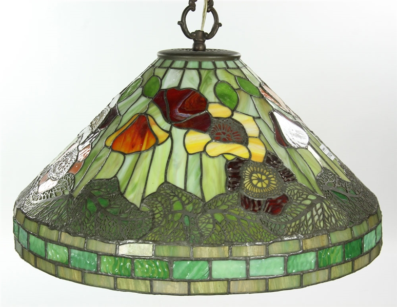 Tiffany Style Stained Glass Hanging Lamp Shade