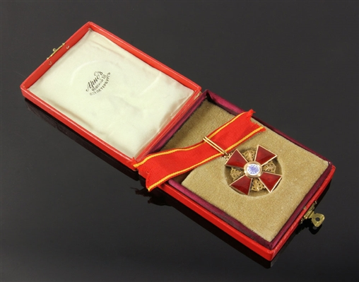 Imperial Russian Order of St. Anne 2nd Class Medal