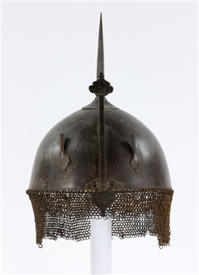 Early Iron Indo-Persian (Kulah Khud) Helmet