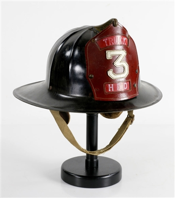 Antique Firefighters Helmet