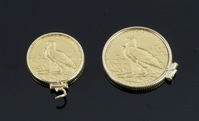 Lot of 2 Gold Coins