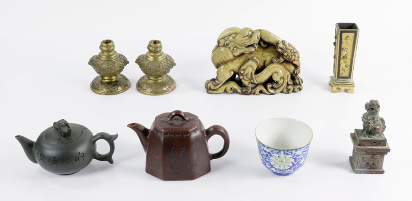 Collection of Chinese Decorative Objects