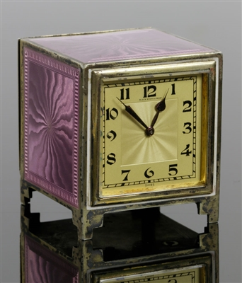 Concord Watch Co. Pink Clock