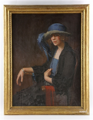 Munsell, Portrait of Mrs. Orr, Oil on Canvas