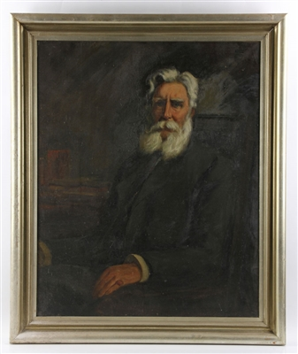 Munsell, Portrait of Mr. Orr, Oil on Canvas