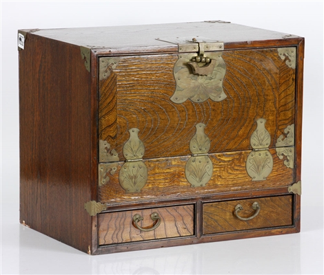 Korean Wood Cabinet