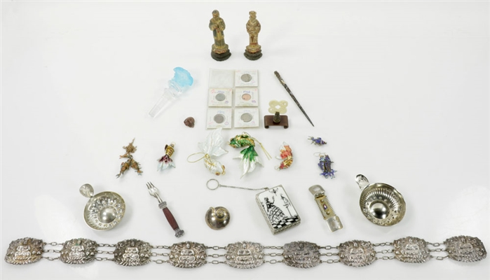 Small Decorative Pieces and Silver