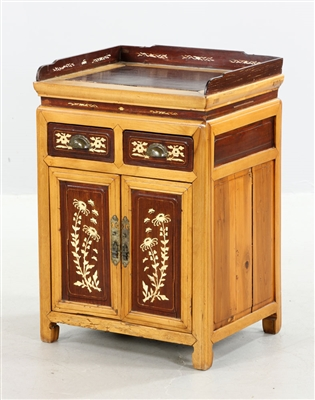 Chinese Inlaid Commode
