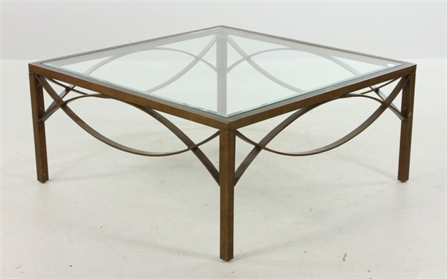 Designer Hammered Iron Coffee Table