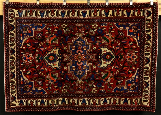 Semi-Antique Bibikabad Carpet