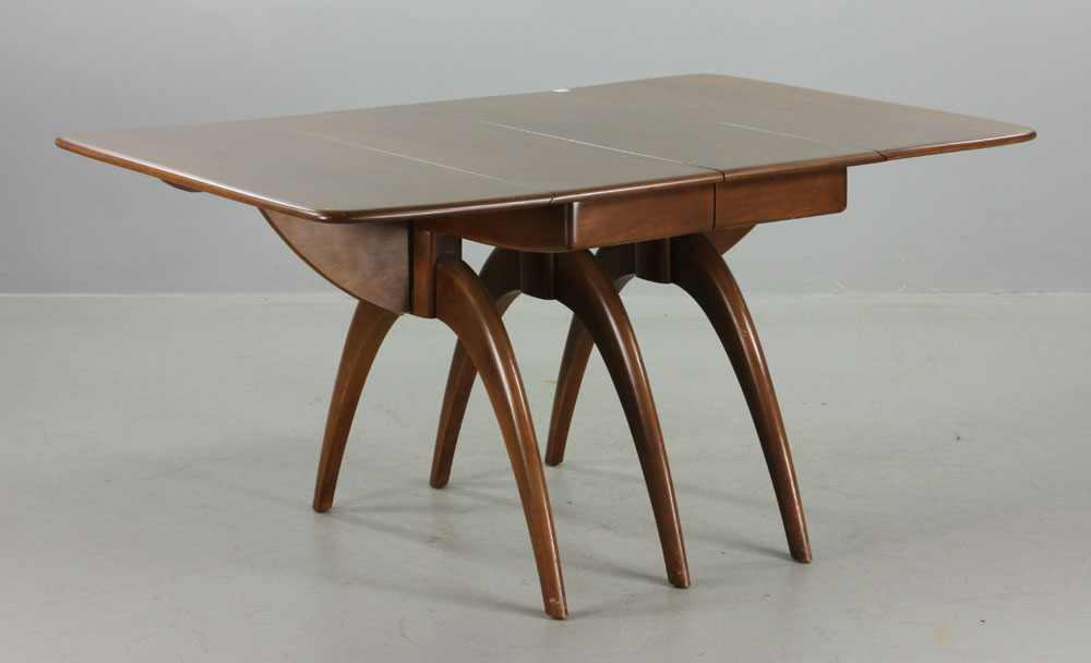 Heywood Wakefield Dining Table Heywood Wakefield Dining Table ...