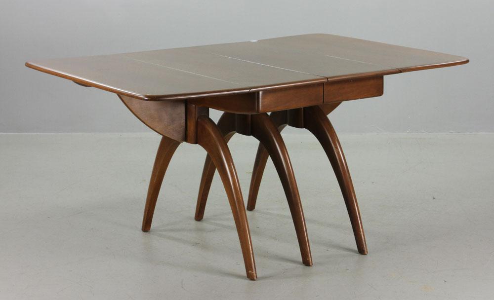 heywood wakefield dining room table | Lot Detail - Heywood Wakefield Dining Table