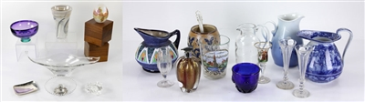 Lot of Porcelain and Art Glass Items