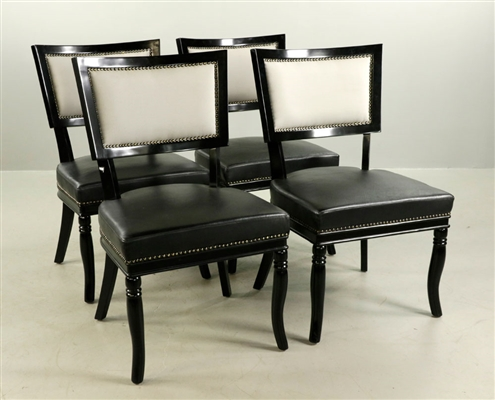 Set of Four Designer Chairs