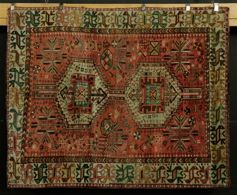 Antique Persian Shiraz Carpet