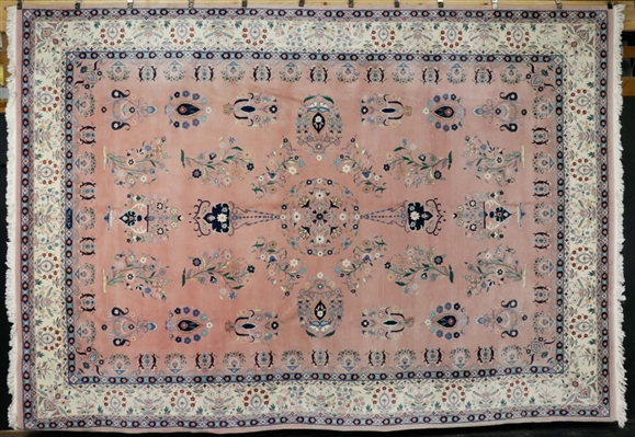 Semi-Antique Floral Carpet