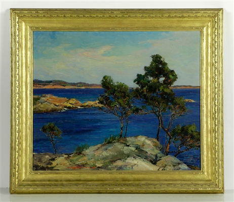 Woodward, Manchester by the Sea, Oil on Canvas
