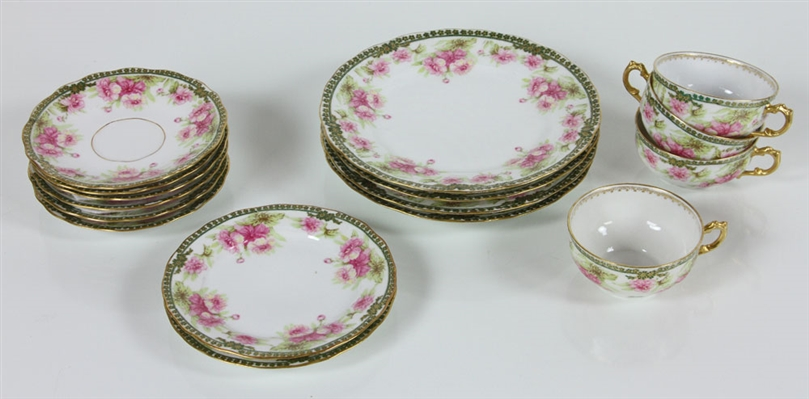 French Limoges China Set