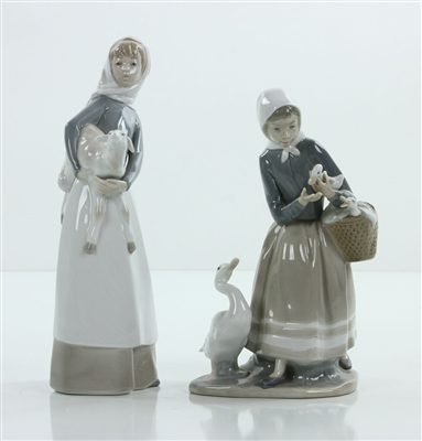 Lot of 2 Lladro Figurines
