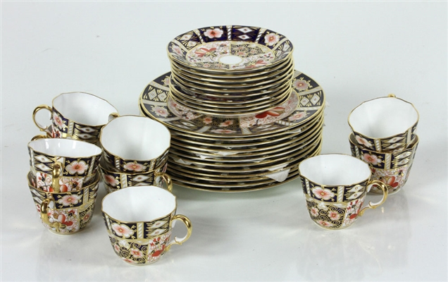 Royal Crown Derby Set, Imari Pattern