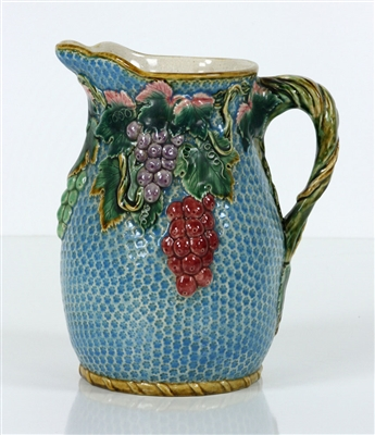 Majolica Pottery Pitcher
