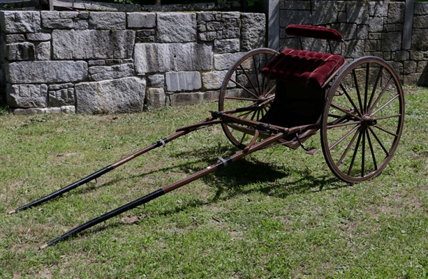Horse Drawn Two Wheel Cart