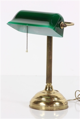 Brass Library Lamp