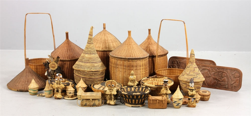 Collection of African Baskets