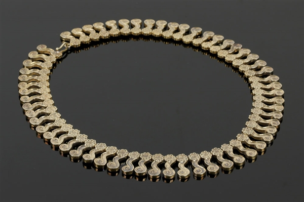 Zolotas Gold Wash over Sterling Silver Necklace