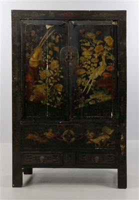 Chinese Two Door Cabinet