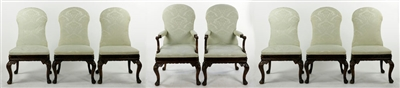 Set of English George II Mahogany Dining Chairs