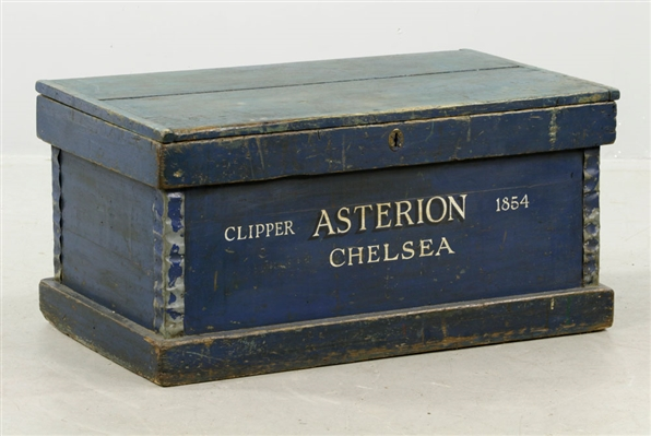 Ships Carpenters Box, Clipper Asterion, Chelsea, 1854