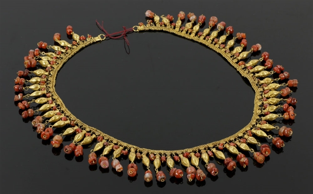 Rare Ancient North Persian Gold Necklace